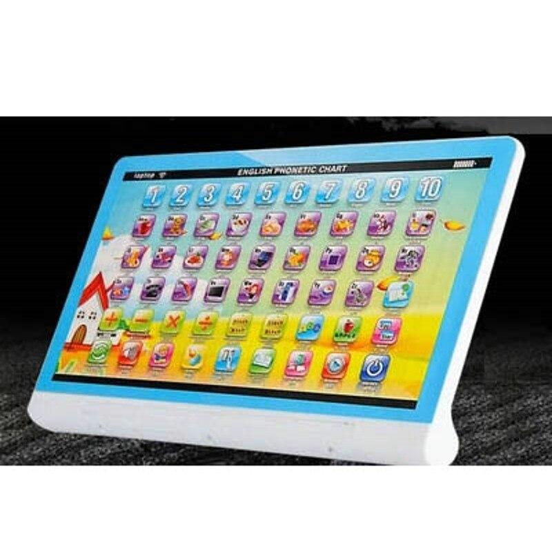 Comprimés rechargeables enfants apprentissage jouets éducatifs bébé petite enfance Machine de lecture nourrissons 0-3-6 ans 2020