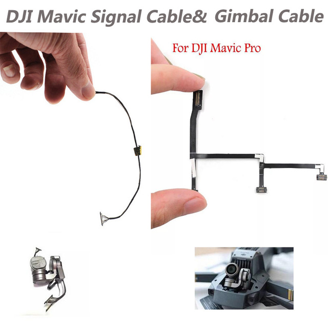in stock dji mavic pro drone camera repairment parts ptz camera  transmission line signal line cable wire/gimbal fpv cable