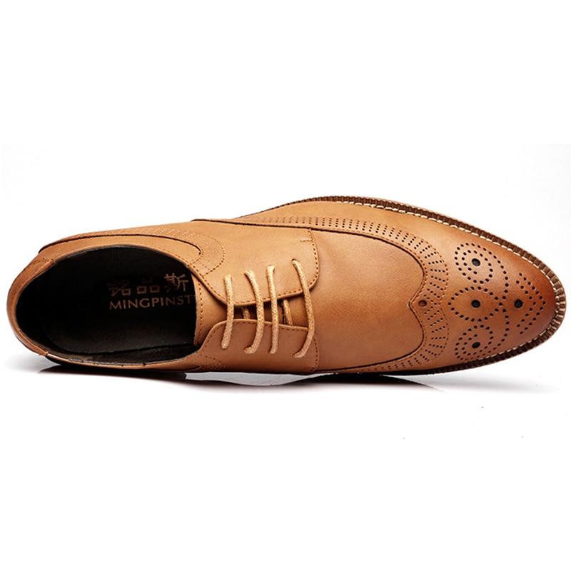 Oxford En Peau Chaussures De Bullock Talon Haute up Noir Mode Mouton Qualité Marque 2018 Sculpté Low Leat kaki brown Respirant Dentelle Pour bleu Mingpinstyle xwvYFzfPW