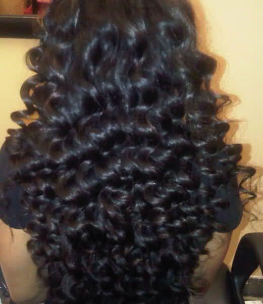 7a Foxy Hair Products Peruvian Virgin Hair Deep Wave Milky Way Hair