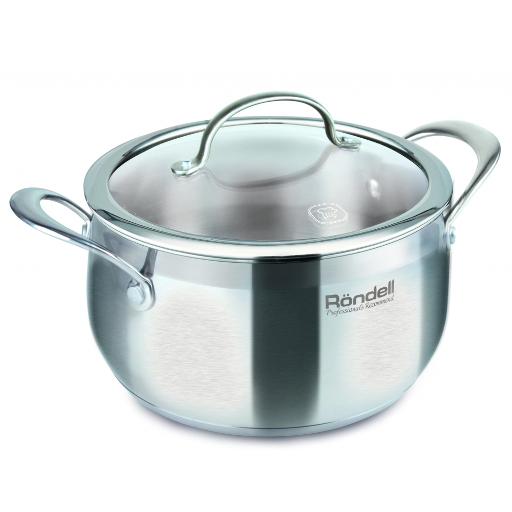Casserole with lid RONDELL RDS-747 pot with lid rondell rds 831