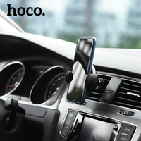 HOCO Car Phone Holder Qi Wirelss Charger For IPhone X 7 8 2 In 1 Fast