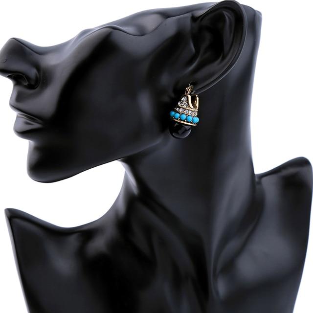 JOOLIM Jewelry Wholesale/ Vintage Boho Style Teardrop Earring Folk Earring Free Shipping Indian Earring Tribal Earring 1
