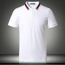 Wit Zwart 2019 Nieuwe Engeland Designer Us Polo Shirts Voor Mannen Korte Mouwen Effen Ademend Shirt Plus Size 4XL 5XL 81855
