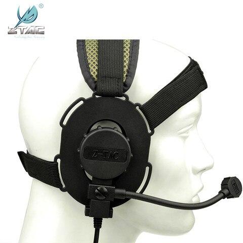 airsof airsoft militar bone headsets peltor z