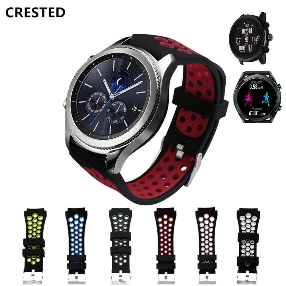 Gear S3 Frontier Strap For Samsung Galaxy Watch 46mm 22mm Watch Band Strap S 3 Classic Correa Bracelet Huawei Watch Gt Strap