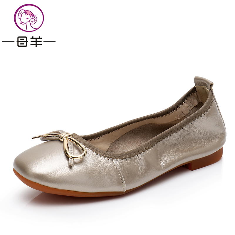 MUYANG Women Flats Spring Autumn Plus Big Size Women Sneakers Soft Comfortable Round Toe Female Casual Shoes muyang new 2017 women shoes genuine leather flats round toe bowtie soft comfortable flat shoes spring autumn casual female shoes