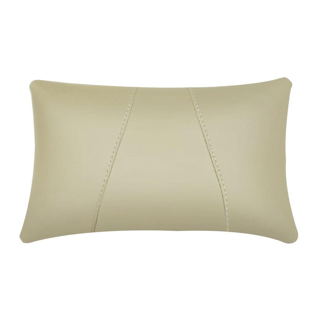 Поясная наволочка для подушки автомобиля креативная подушка для шеи для автомобиля - Цвет: Beige