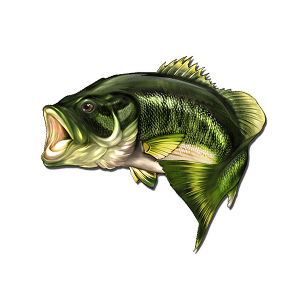 Aliexpress.com : Buy Car Bass Fish Fishing Stickers Boat