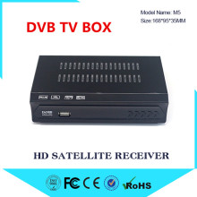 2018 DVB S2 M5 HD Digital Satellite TV Receiver Support MPEG-2/4 H.264 HD 1080p Support FAT DVB S2 Satellite Receiver +USB WIFI
