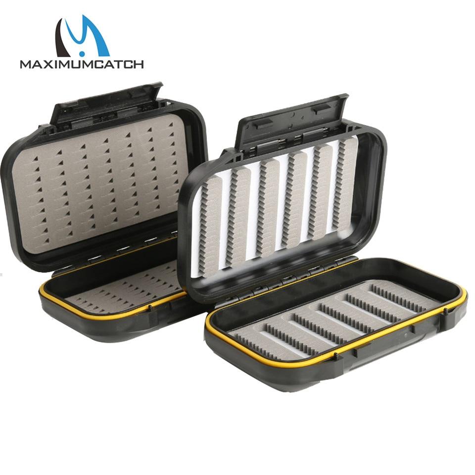Maximumcatch OR Fly Box Waterproof Easy Grip Foam&Slit Foam Plastic Fly Fishing Box|fishing accessories|line clipper|hook sharpener - title=