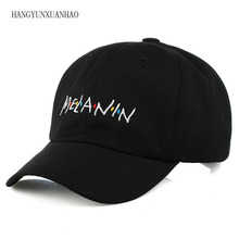 HANGYUNXUANHAO 2019 Unisex High Quality Letter Embroidered Baseball Cap Cotton Hat For Men Women Hip Hop Streetwear Dad