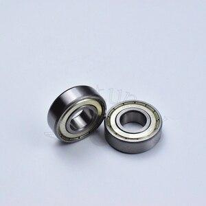 Image 5 - 6202ZZ 15*35*11 (mm) 10 pezzi spedizione gratuita cuscinetto ABEC 5 10 Pezzo di chiusura in metallo di cuscinetti 6202 6202Z 6202ZZ in acciaio cromato cuscinetto