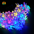 2017 Battery 2M 20LED Holiday Lotus Flower LED String Lights For Wedding Parties Decoration Lightings LED lumieres de lotus