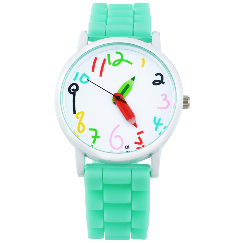 Silicone Jelly Quartz Wrist Watch