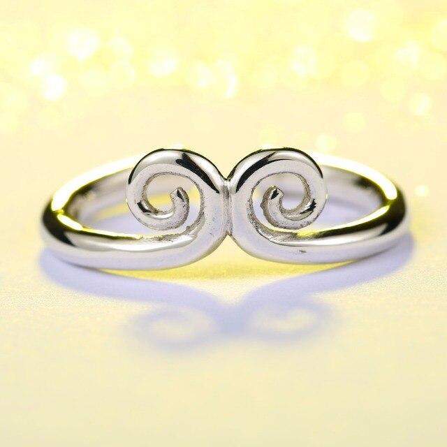 Beier new store100 % 925 bạc sterling vòng bán hot tiền vua ture tình yêu wedding ring Đồ Trang Sức BR-SR007