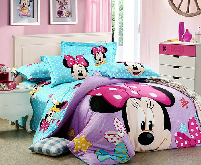 popular minnie mouse comforter set buy cheap minnie mouse
