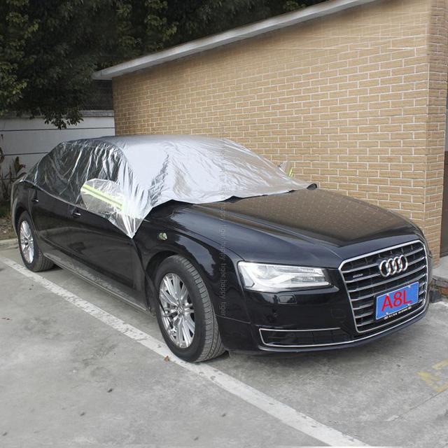 Reflective Anti Sunscreen Antifreeze Half Car Windshield Car Body - Audi a8 car cover