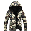 Camouflage Padded Parka Men Coat Winter Jacket Men Slim Fit Mens Winter Jackets and Coats Doudoune Homme Hiver Marque