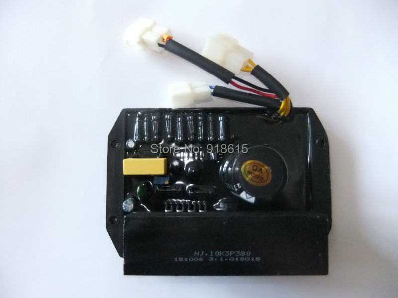 free shipping HJ 10K3P380 AVR AUTOMATIC VOLTAGE REGULATOR  three phase GASOLINE GENERATOR SPARE PARTS