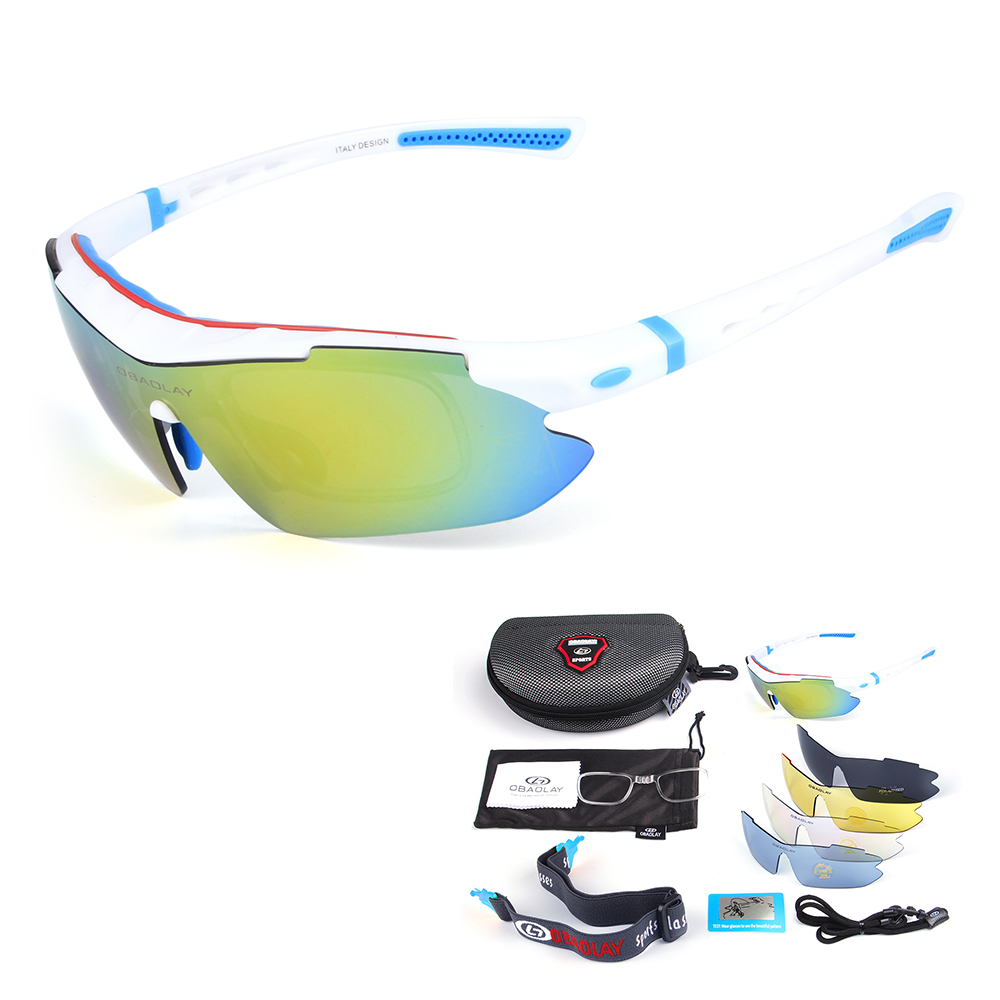 Polarisierte Sonnenbrille Radfahren Fahrrad Uv400 Sports Fahren Angeln Skating Reisen Brillen Brillen Schrumpffrei