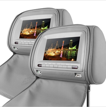 2x7 digital Screen Headrest car DVD Player  8 Bits & 32 Bits Games for nissan/ hyundai/kia/ ssangyong/fford блокада 2 dvd