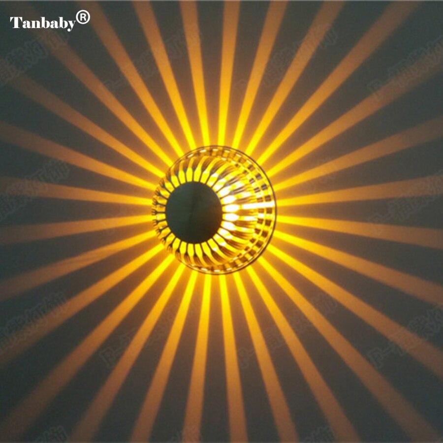 Tanbaby Лидер продаж высокое качество 3 Вт настенные светильники светодиодные Тыква Форма AC85 ~ 265 В настенные светильники светодиодные современ…