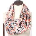 Леди новый шифон ацтеков геометрическая племенной бежевый темно-синий нескольких écharpe бесконечности цикл шарф пляж шаль шарфы для женщин