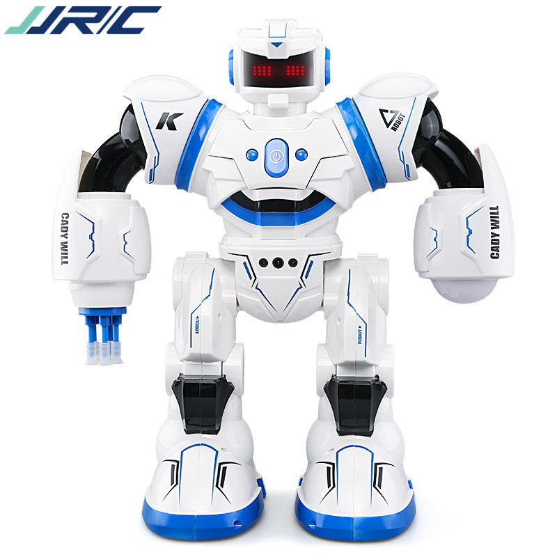 4 pcs JJRIC R3 robot with remote AI robot toy Singing and dancing shooting laser,Gesture sensing, Christmas gifts by DHL