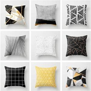 1PC 45*45cm Polyester Pillow C