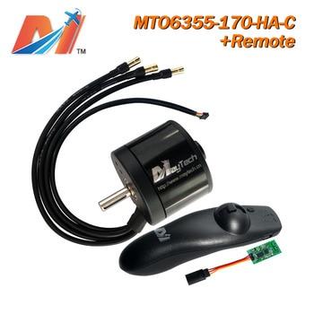 Maytech 2pcs 10% OFF motorized longboard 6355 170KV brushless motor for skateboard and controller