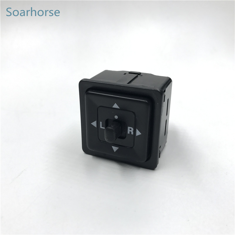 Soarhorse side Rearview Mirror Control Adjust Switch button for Mitsubishi Pajero Montero 2 Galant 300GT Space Wagon Eclipse