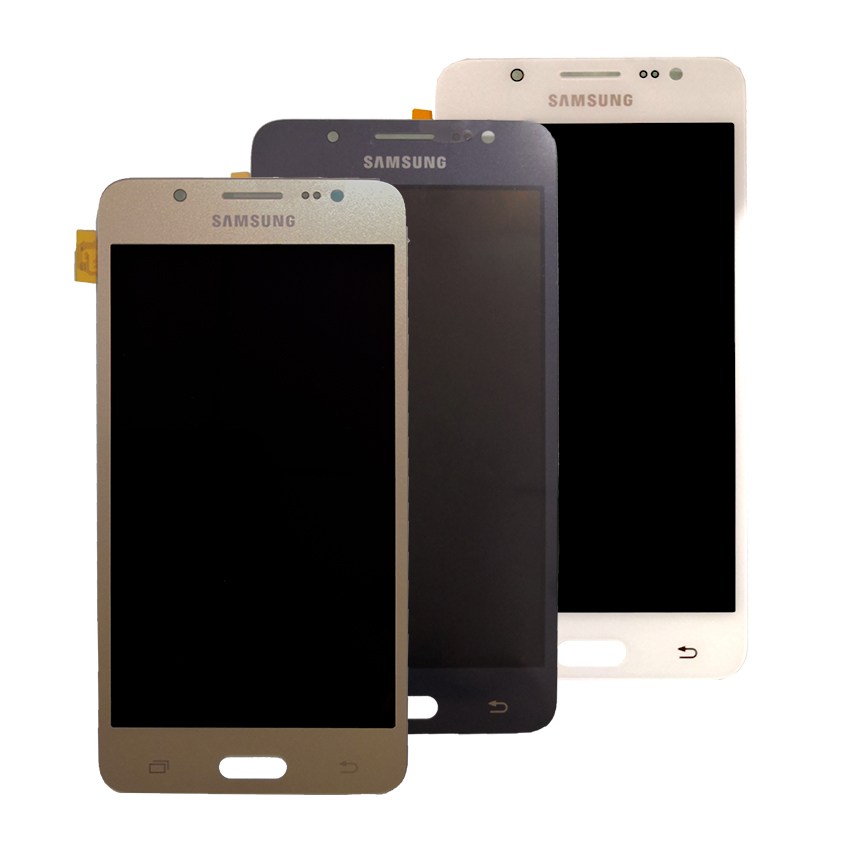 AMOLED LCD For SAMSUNG Galaxy J5 2016 LCD Display J510 J510F J510FN J510M Touch Screen Digitizer For Samsung J5 2016 J510 LCD in Mobile Phone LCD Screens from Cellphones Telecommunications
