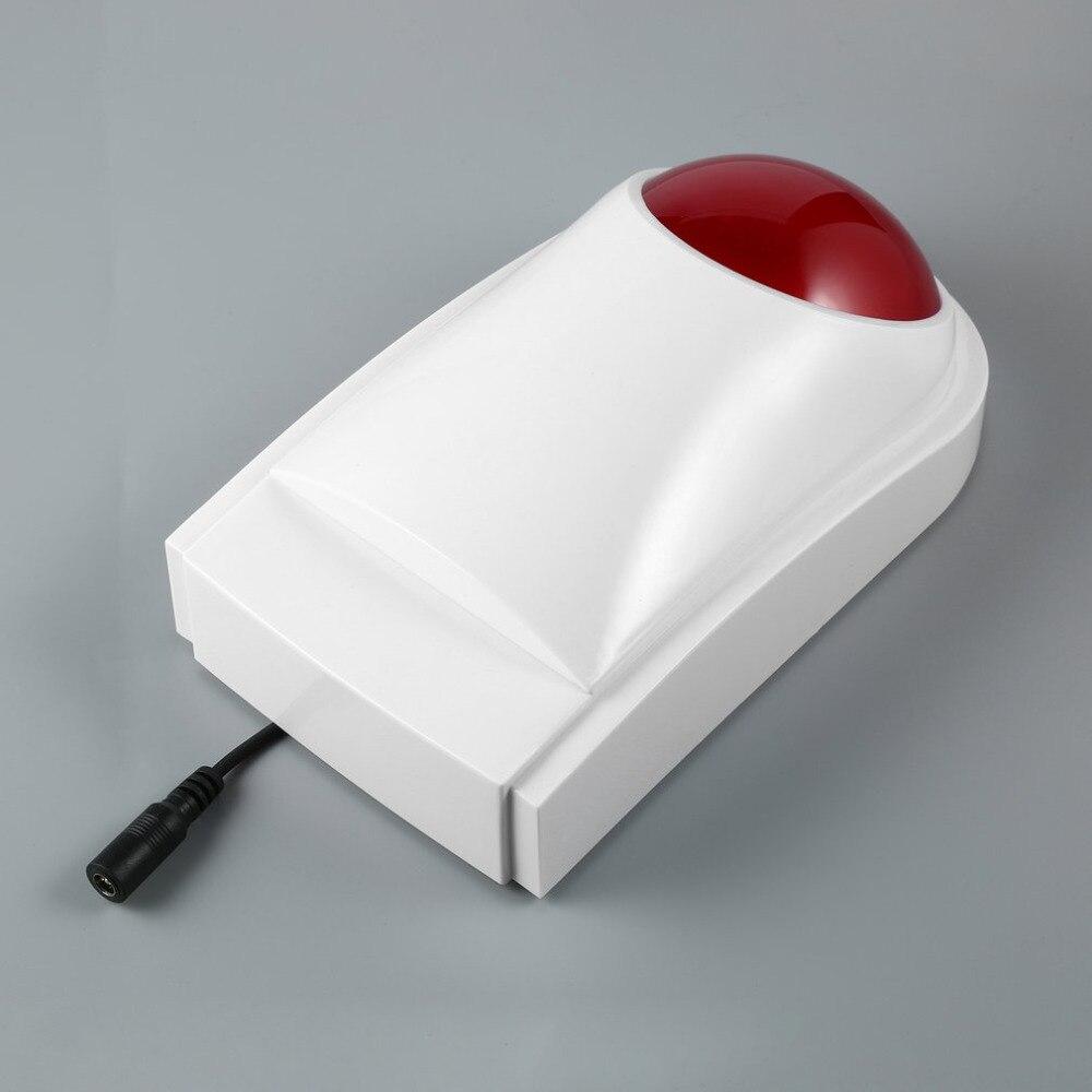 Im freien Wasserdichte Wired Home Security Sound Licht Strobe ...