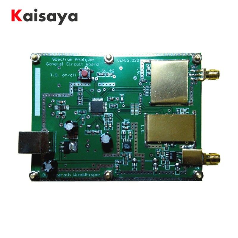 Snalyzer Simple spectre D6 (source d'auto-suivi T. G.) V2.032B ADF4351 Simple Signal Source B4-006