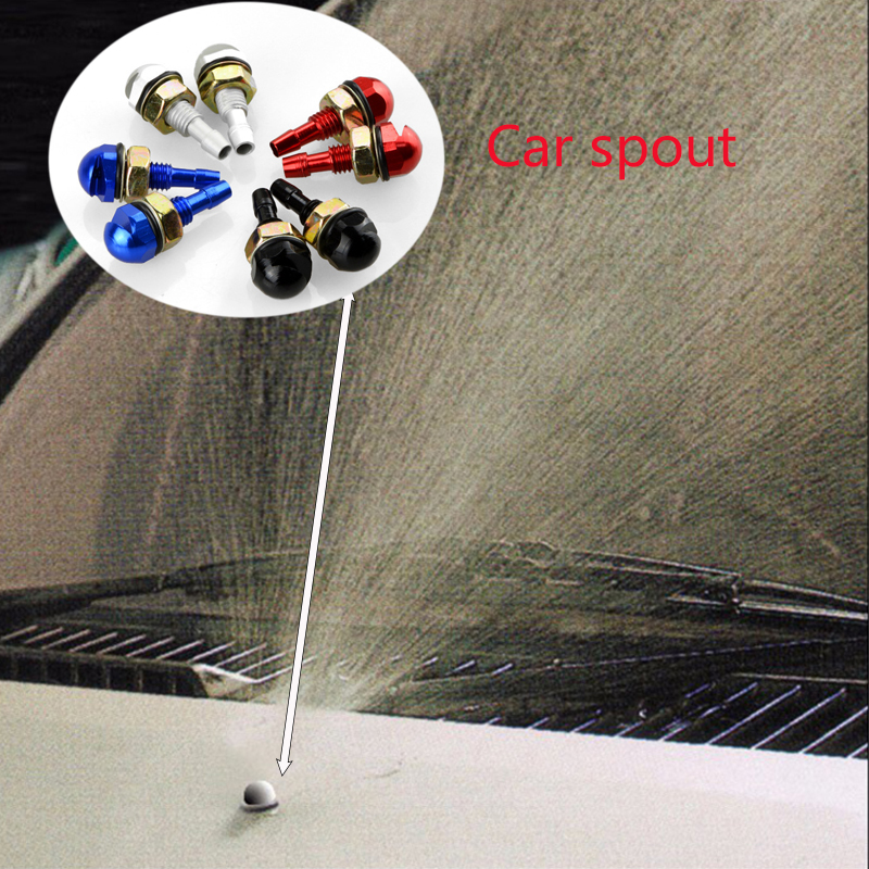 1PCS Car Styling Windshield Wiper Spray Eyes Nozzle For <font><b>Mercedes</b></font> Benz W203 W204 <font><b>211</b></font> Class A C GLC GLA AMG Smart Citroen C4 C5 image