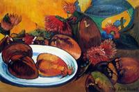 Fruit Painting for Dining Room Still life with Mangoes, 1893 Paul Gauguin Painting No Framed Original Quality Reproductions