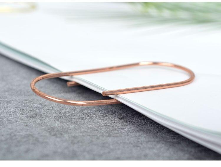 papel clipe metal material marcadores para papelaria