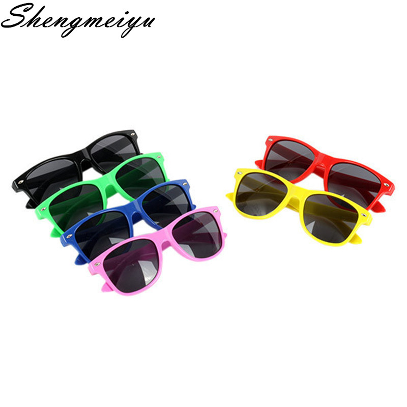 2017 New Cool Sunglasses for Kids Brand Design Sun Glasses for Children Boys Girls Sunglass UV 400 Protection Rivet oculos