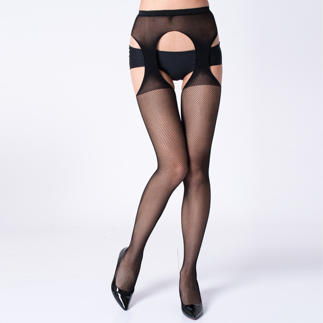 HSS Women Sexy Stockings Lingerie Stripe Lace Elastic Transparent Black Hollow Out Tights Thigh Sheer Embroidery Pantyhose Socks