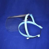 Brand New Adjustable Dental Full Face Shield With 10 Plastic Protective Film