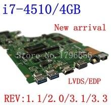 New  X555LP I7 4510 4G motherboard For ASUS X555LD VM590L R556L W519L R557L X555LI rev2
