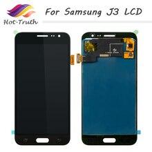 Дешевые Лидер продаж-правда 3 шт. AAA ЖК-дисплей Экран Touch Панель для samsung Galaxy J3 2016 J320 J320M ЖК-дисплей Дисплей с сенсорный экран планшета Ассамблеи