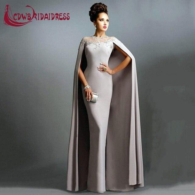 Saudi arabien Licht Grau Appliques Mutter der Braut Kleider Mit ...
