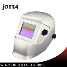 цены white  Solar auto darkening weldingmask/helmets/MMA TIG MIG welder cap/welding lens/eyes mask
