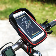 Мотоцикл Велосипед пакет мобильного телефона поддержка навигации рама горный велосипед дорожный автомобиль перед мешок водонепроницаемый мешок