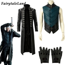 FairytaleLand Jacket Vest Gloves Cosplay Devil May Cry 5 Costume Halloween Outfit
