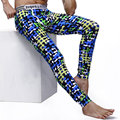 Homens calças dos homens long johns calça elástica linha fina quente masculino moda cottonsexy lycra ceroulas para cuecas sexy legging apertado