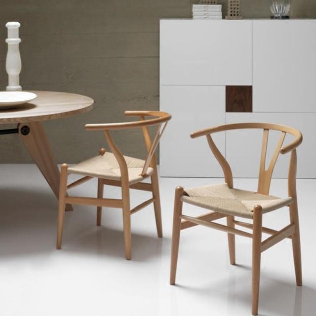 Muebles de comedor silla de madera moderna y moderna silla de ...