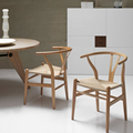 Replica Hans Wegner Wishbone Y Chair contemporary and solid wood dining chair minimalist modern beech wood chair
